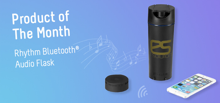 rhythm bluetooth audio flask