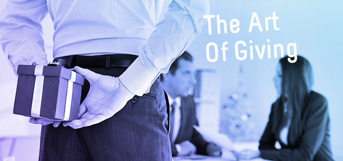 Giving business gifts is one of the oldest and most effective ways
